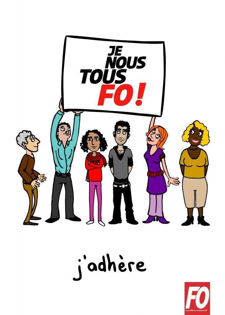 afficheFOadhere
