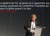 ÉDITORIAL DE JEAN CLAUDE MAILLY DU MERCREDI 30 OCTOBRE 2013