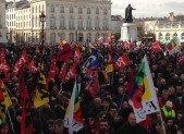 Manifestation contre le projet Loi Travail du 31 Mars à NANCY